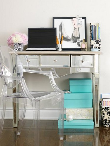 Desk Dilemma Ghost Chair Obsession=New fice