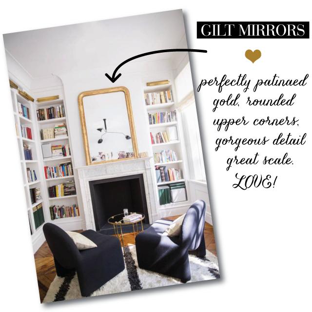 Gilt-Mirrors