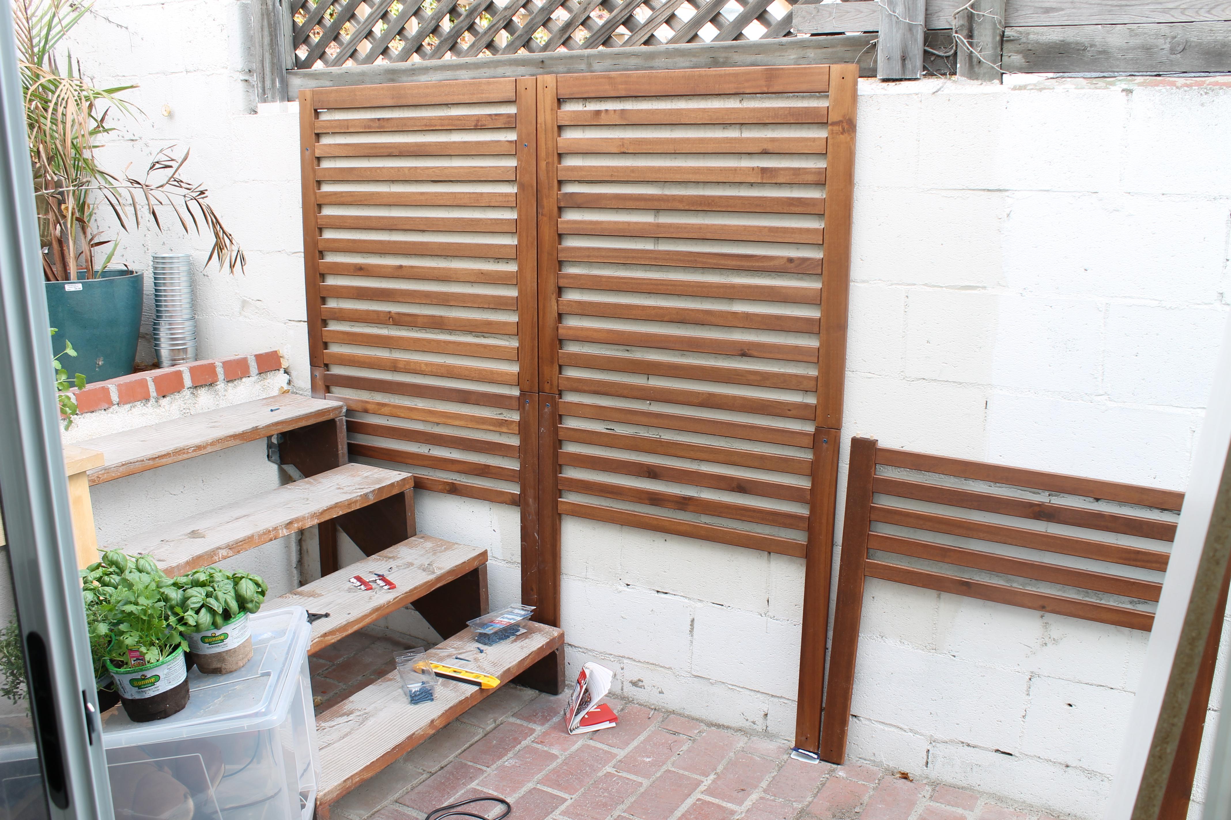 Weekend Project – Patio Garden