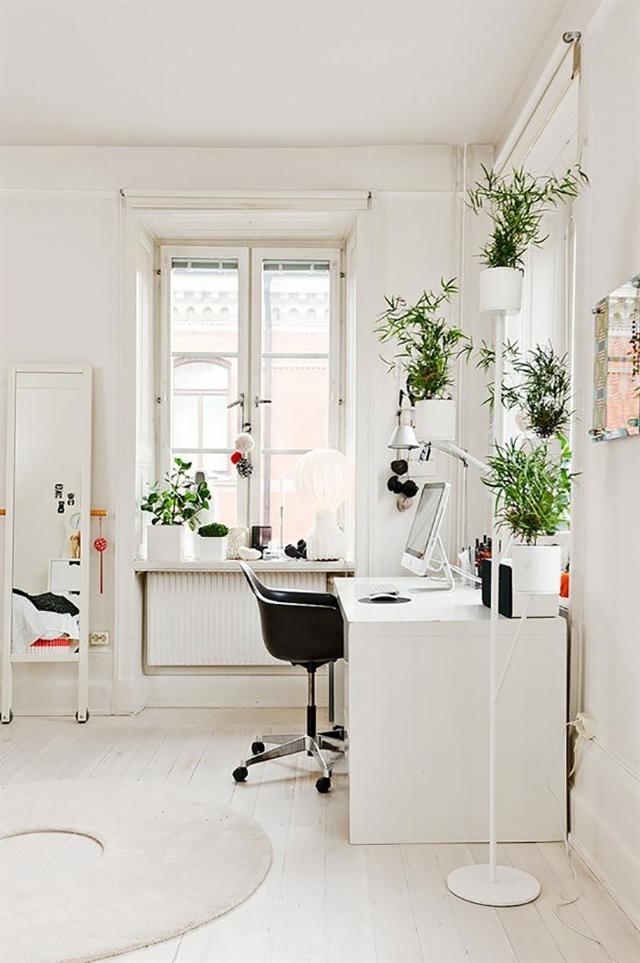 Office with Greens