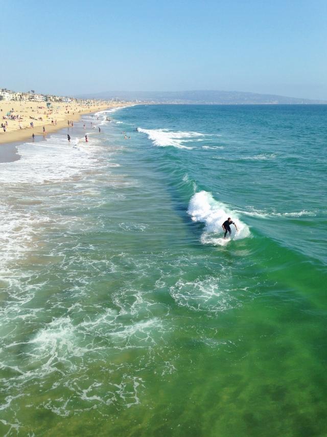 Surfers Manhattan Beach Pier 2