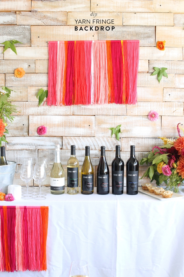 DIY-Yarn-Fringe-Backdrop