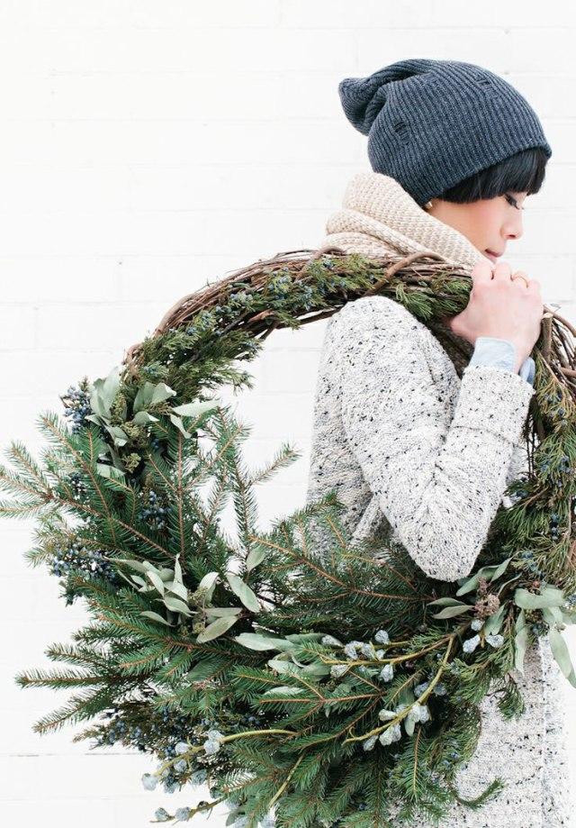Wreath-Under-Arm